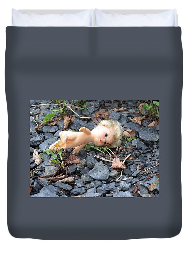 Doll Duvet Cover featuring the photograph Dolly by Michele Nelson