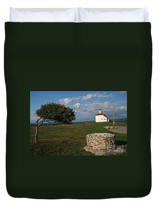 The Ring Duvet Cover featuring the photograph Don't Answer the Phone by Brenda Giasson