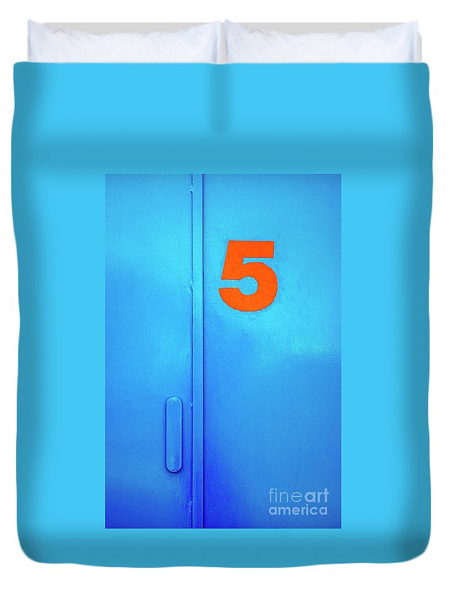 Blue Shutters Duvet Covers