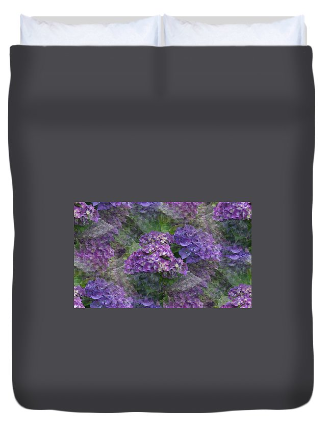 Duvet Cover featuring the photograph Dreamy by Barbara S Nickerson