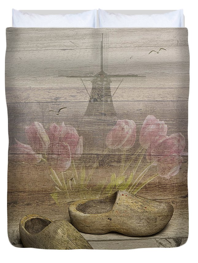 Art Duvet Cover featuring the photograph Dutch Heritage by Randall Nyhof