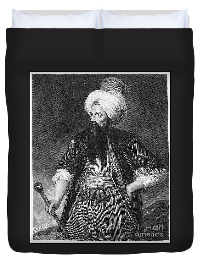 18th Century Duvet Cover featuring the photograph Edward Wortley Montagu by Granger