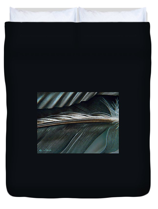 Nature Duvet Cover featuring the photograph Every Shade by Chris Berry