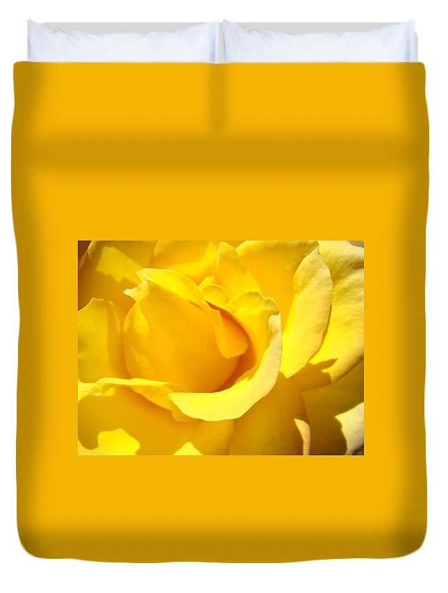 Rose Duvet Cover featuring the photograph Fine Art Prints Yellow Rose Flower by Baslee Troutman
