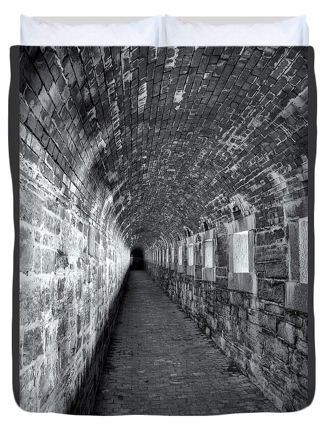 Clarence Holmes Duvet Cover featuring the photograph Fort Knox Rifle Gallery II by Clarence Holmes