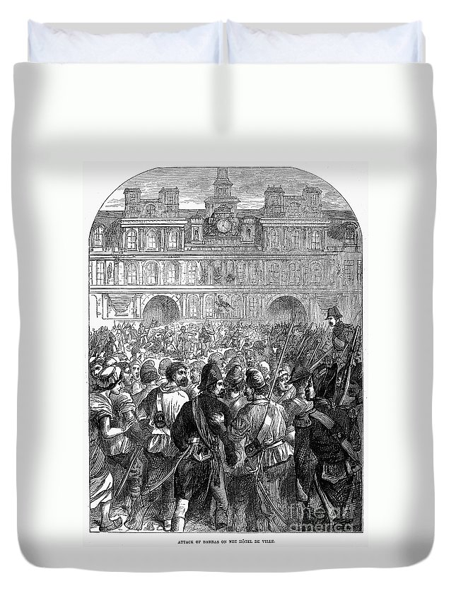 1794 Duvet Cover featuring the photograph French Revolution, 1794 by Granger