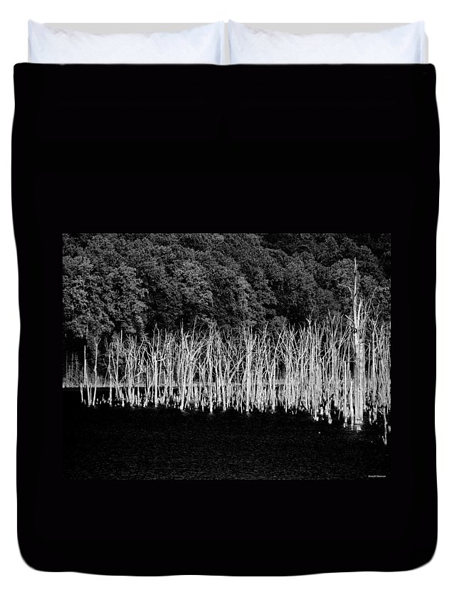 Forest Duvet Cover featuring the photograph Ghostwood by Joseph Noonan