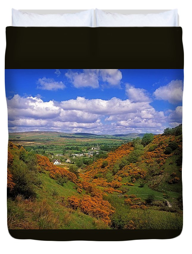 Outdoors Duvet Cover featuring the photograph Gortin Valley, Co Tyrone, Ireland by The Irish Image Collection