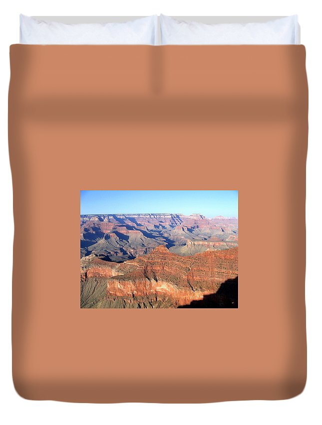 Grand Canyon Duvet Cover featuring the photograph Grand Canyon 20 by Will Borden
