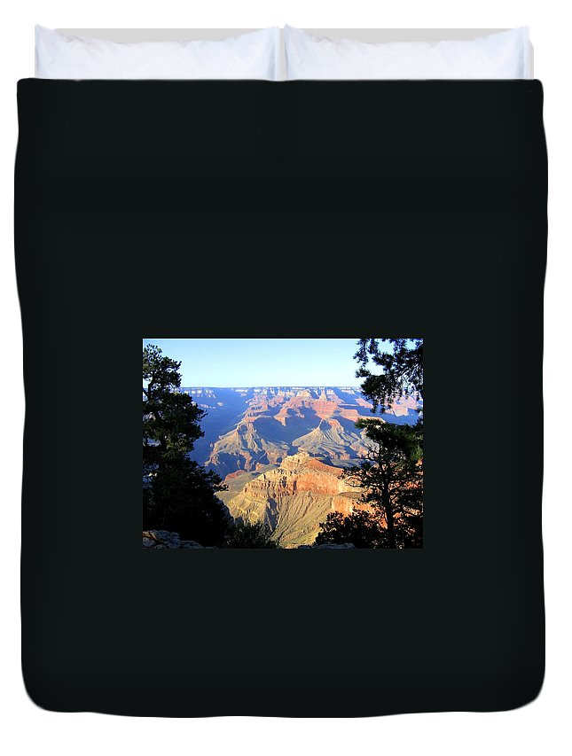 Grand Canyon Duvet Cover featuring the photograph Grand Canyon 28 by Will Borden