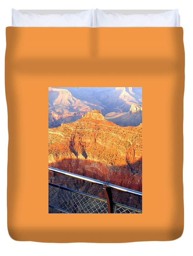 Grand Canyon Duvet Cover featuring the photograph Grand Canyon 43 by Will Borden