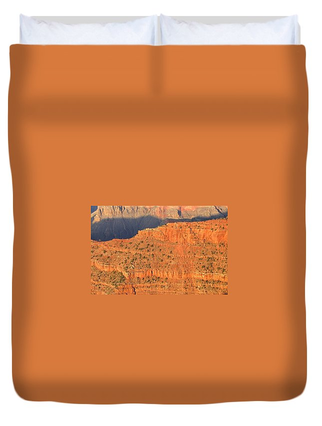Grand Canyon Duvet Cover featuring the photograph Grand Canyon 54 by Will Borden