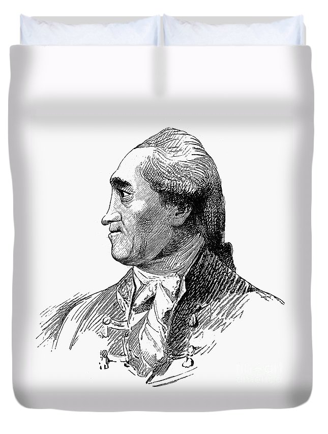 18th Century Duvet Cover featuring the photograph Henry Flood (1732-1791) by Granger