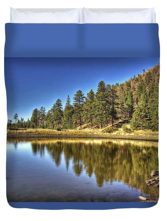 Arizona Duvet Cover featuring the photograph Hidden Treasures by Saija Lehtonen