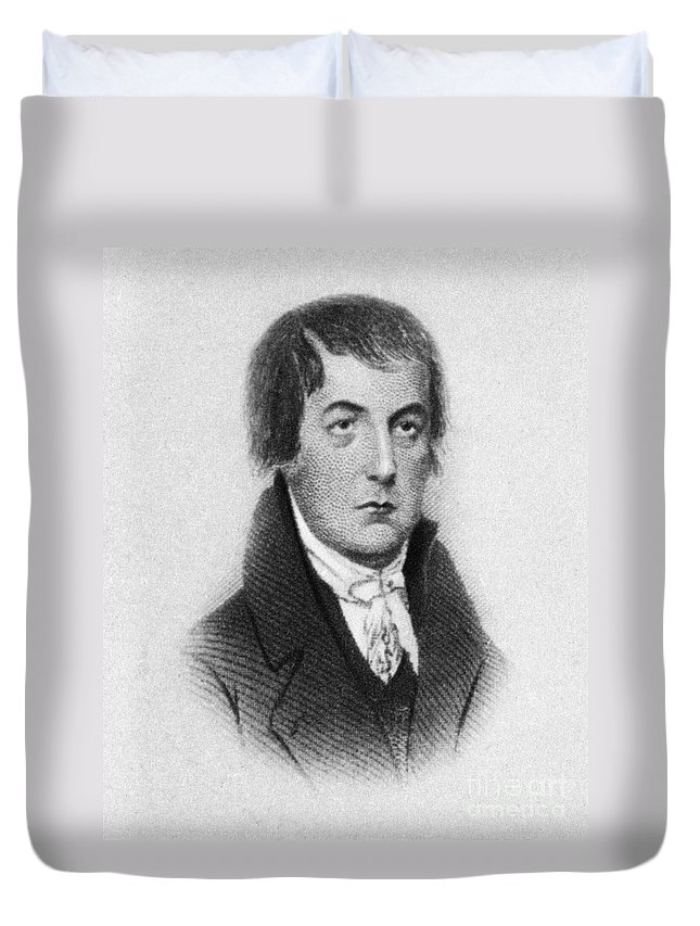 18th Century Duvet Cover featuring the photograph Humphrey Marshall by Granger