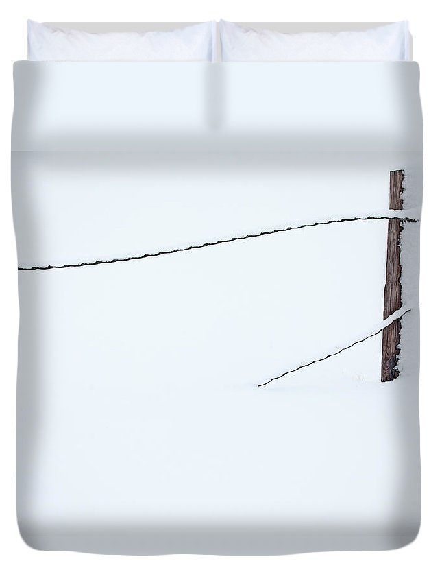 Winter Duvet Cover featuring the photograph In Deep by Karol Livote