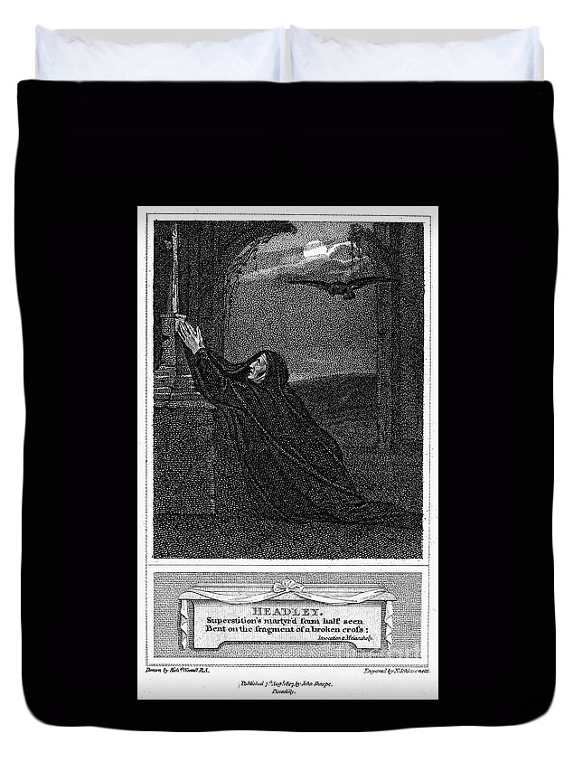 1785 Duvet Cover featuring the photograph Invocation To Melancholy by Granger