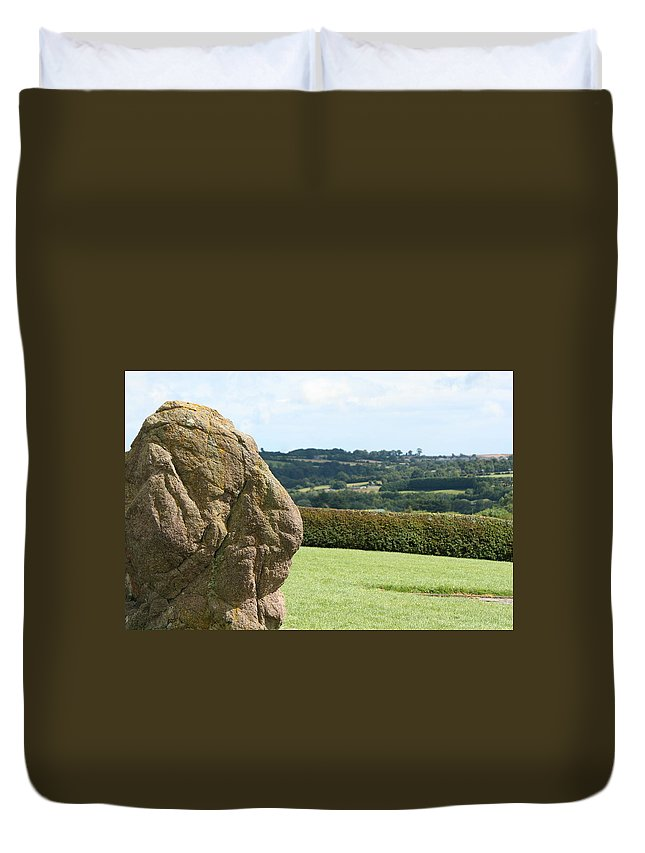 Ireland Duvet Cover featuring the photograph Ireland 0014 by Carol Ann Thomas