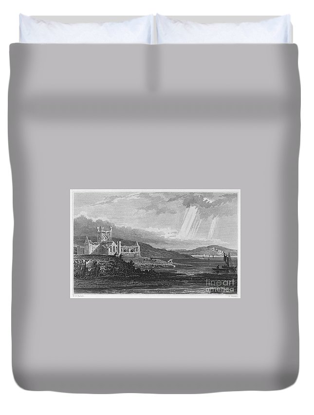 13th Century Duvet Cover featuring the photograph Ireland: Dunbrody Abbey by Granger
