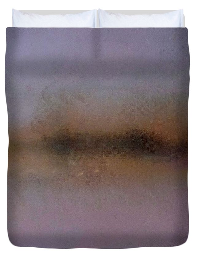 Skyline Duvet Cover featuring the painting Italian Skyline by Charles Stuart