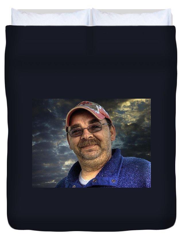 Acrylic Prints Duvet Cover featuring the photograph Joe by John Herzog