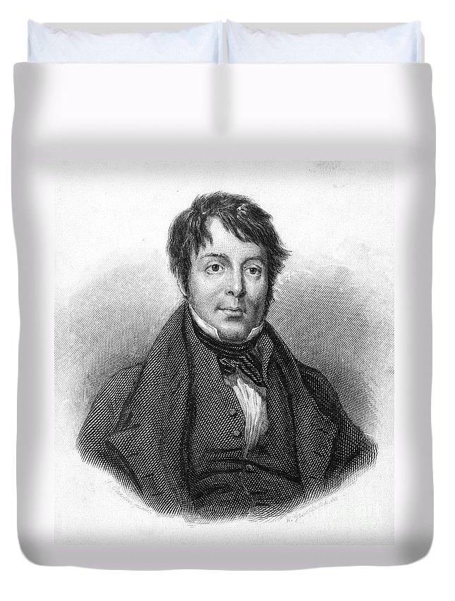 19th Century Duvet Cover featuring the photograph Joseph Grimaldi (1779-1837) by Granger