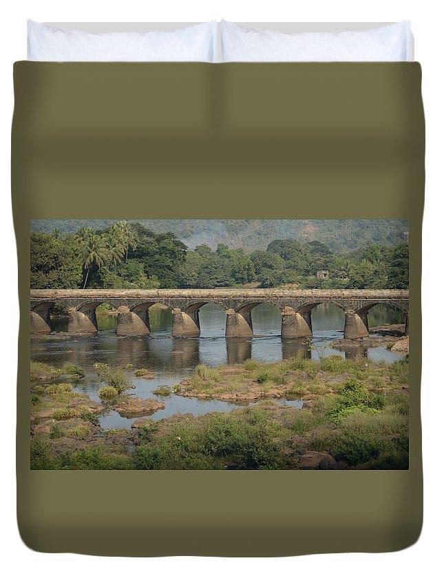 Kerala Duvet Cover featuring the photograph Kerala Beauty by Valerie Rosen