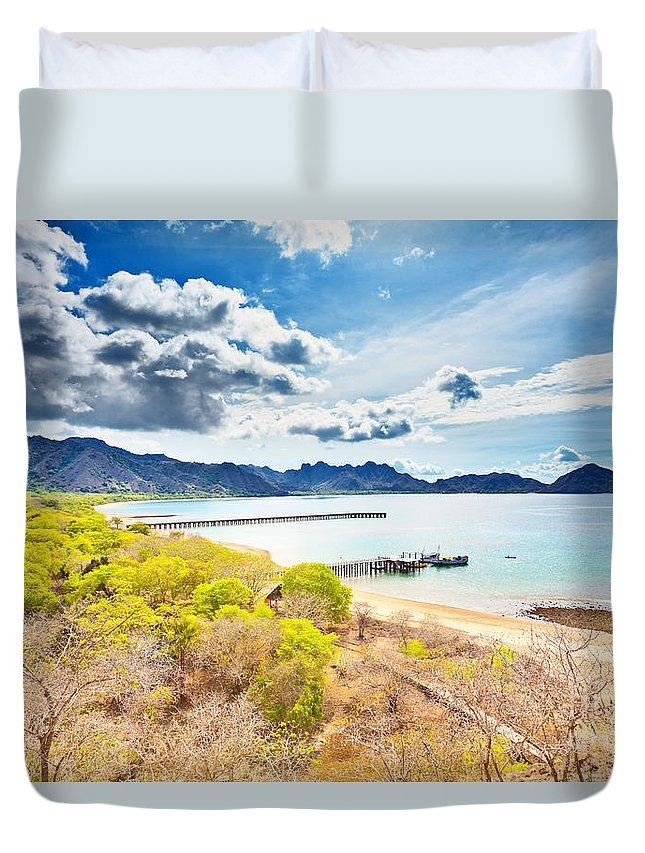 Komodo Duvet Cover featuring the photograph Komodo Bay by MotHaiBaPhoto Prints