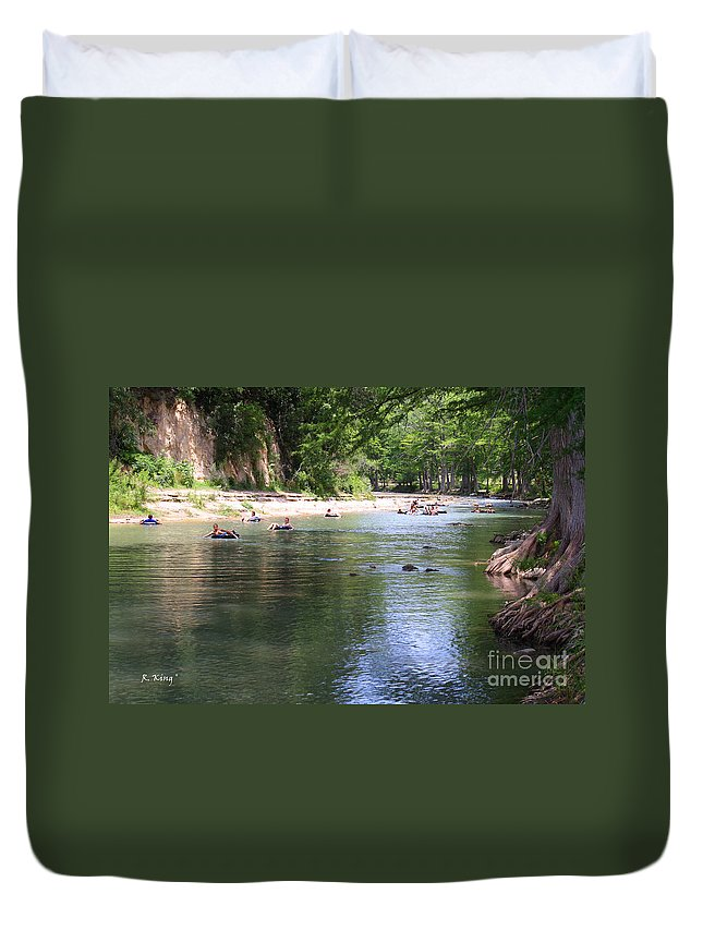 Roena King Duvet Cover featuring the photograph Lazy Summer Days by Roena King
