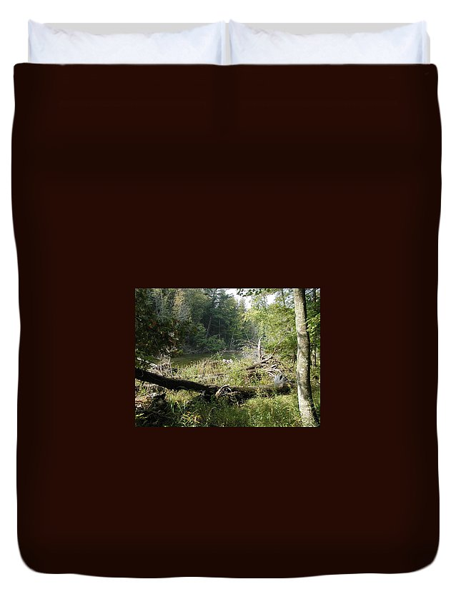 Coho Salmon Duvet Cover featuring the photograph Looks Slow by Joseph Yarbrough