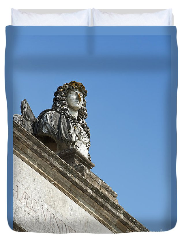 14th Duvet Cover featuring the photograph Louis Xiv by Andrew Michael