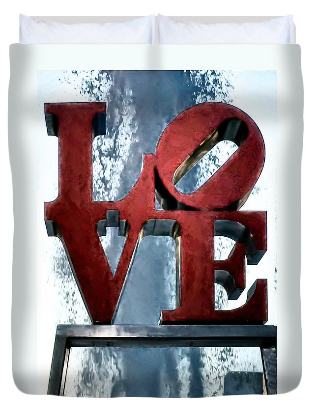 Love In The Afternoon Duvet Cover featuring the photograph Love In The Afternoon by Bill Cannon