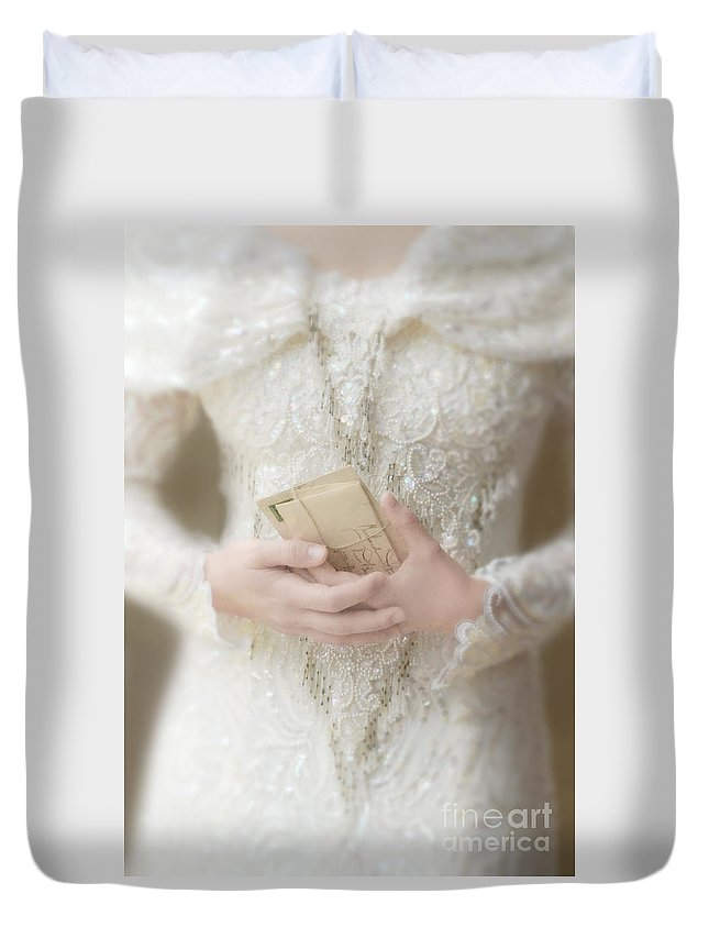 Beautiful Duvet Cover featuring the photograph Love Letters by Jill Battaglia