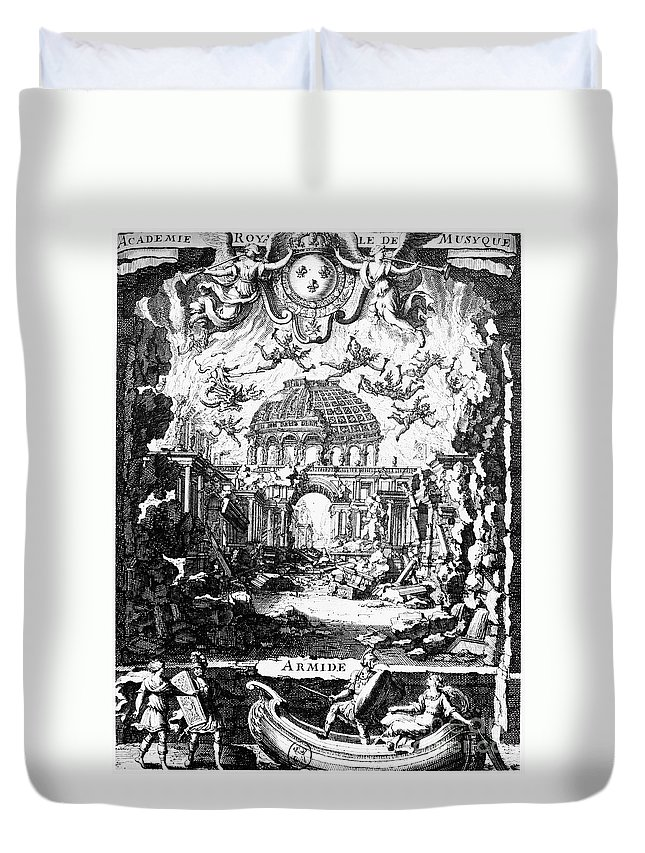 1686 Duvet Cover featuring the photograph Lully: Armide, 1686 by Granger