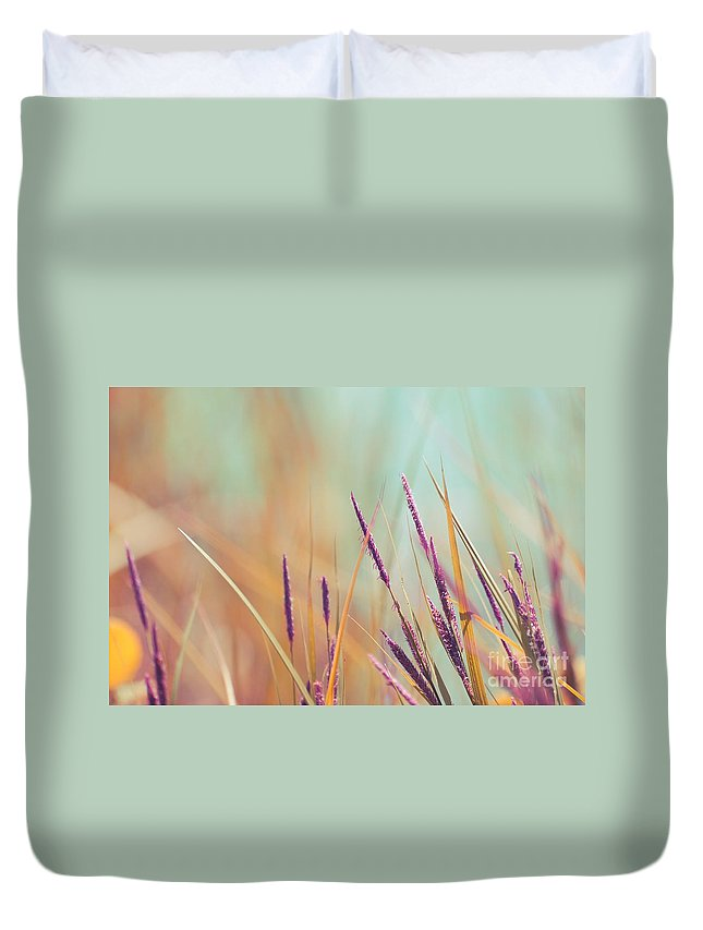 Whimsical Duvet Cover featuring the photograph Luminis - S07b by Variance Collections