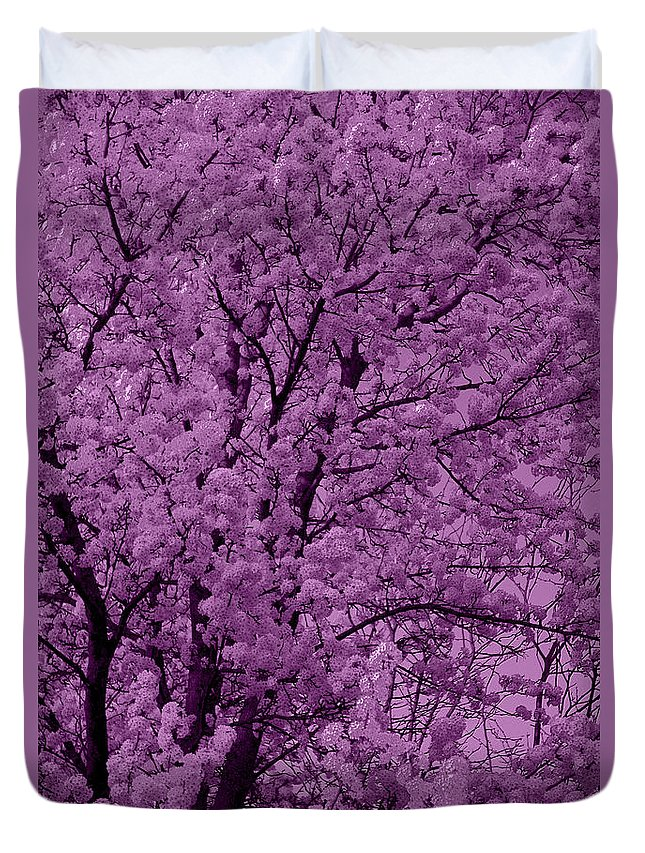Lush Lavender Duvet Cover featuring the photograph Lush Lavender by Ed Smith
