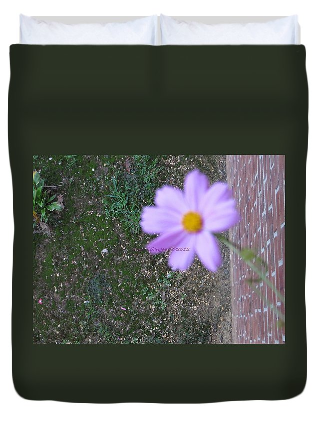 Cosmic Magic Duvet Cover featuring the photograph Magic Flower by Sonali Gangane