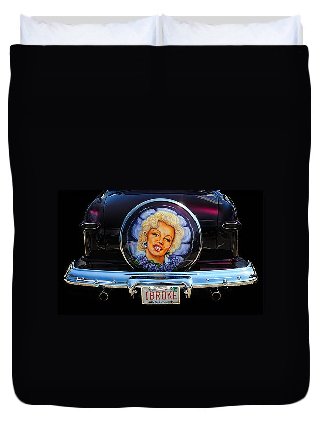 Marilyn Monroe Duvet Cover featuring the photograph Marilyn Monroe by Dave Mills