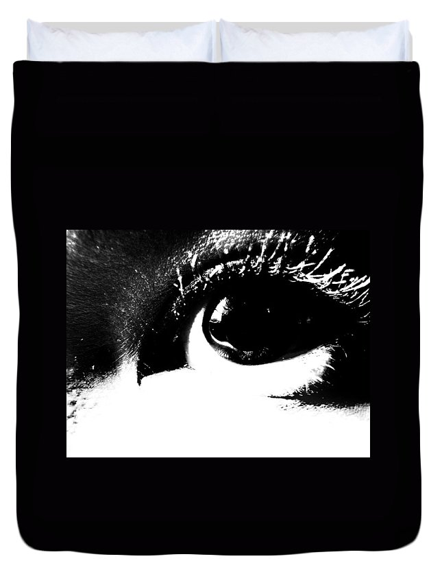 Elm Duvet Cover featuring the photograph Masked Era by The Artist Project