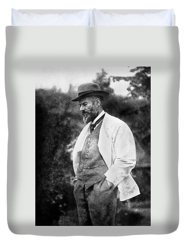 1917 Duvet Cover featuring the photograph Max Weber 1864-1920 by Granger