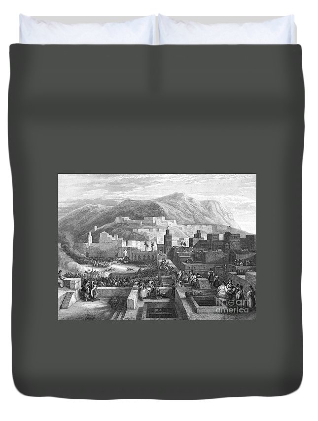 19th Century Duvet Cover featuring the photograph Morocco: Tetouan by Granger