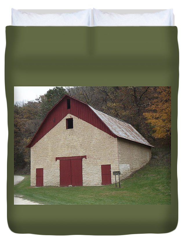 Livery Duvet Cover featuring the photograph Motor Mill Livery by Bonfire Photography