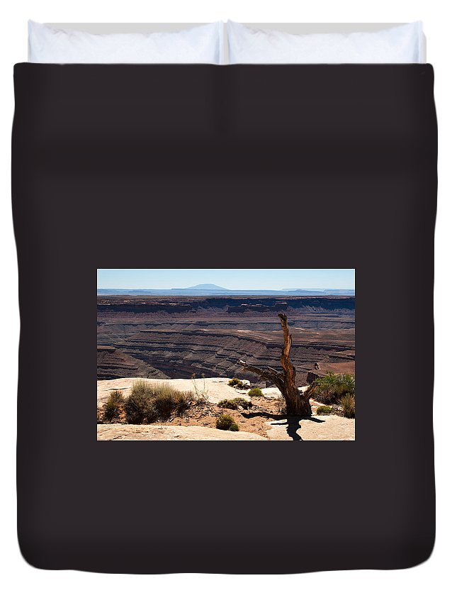 View Duvet Cover featuring the photograph Muley Point by Jason Smith