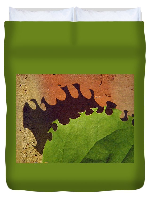 Nature Duvet Cover featuring the photograph Munch by Chris Berry