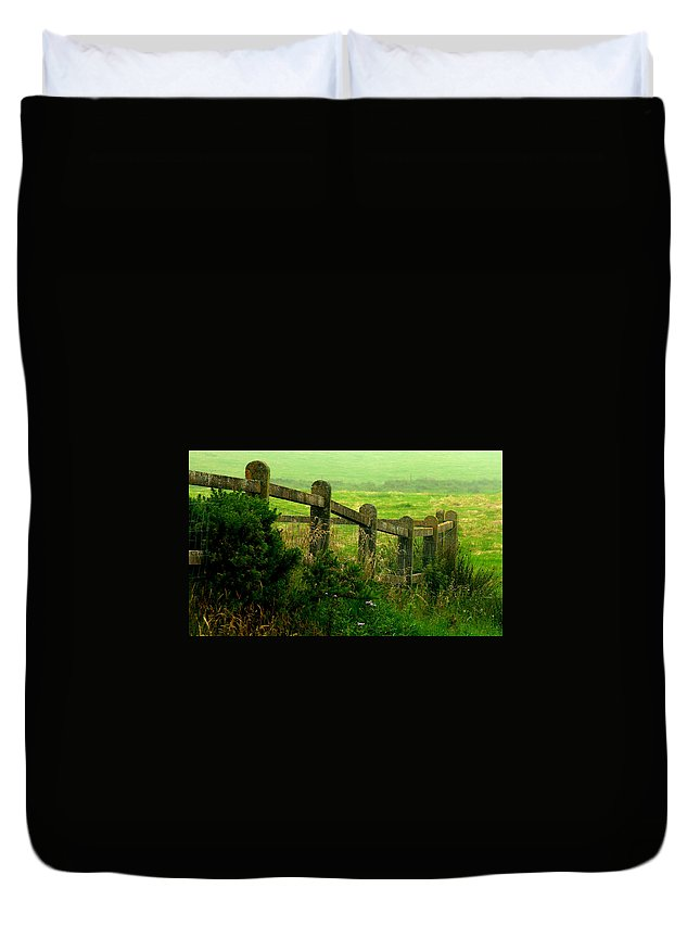 Nature Duvet Cover featuring the photograph My Land by David Resnikoff