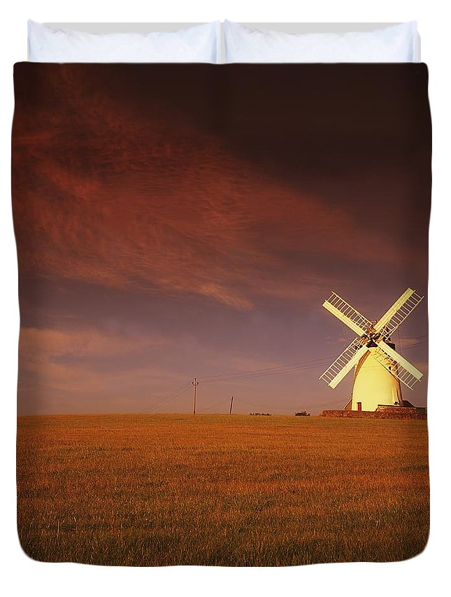 Outdoors Duvet Cover featuring the photograph Near Newtownards, Co Down, Ireland by The Irish Image Collection