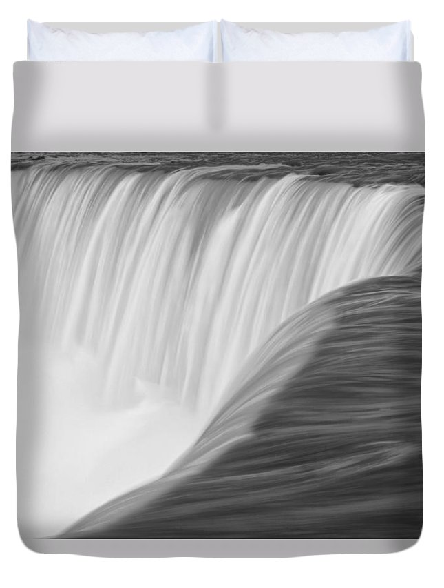 Art Duvet Cover featuring the photograph Niagara Horseshoe Falls by Randall Nyhof
