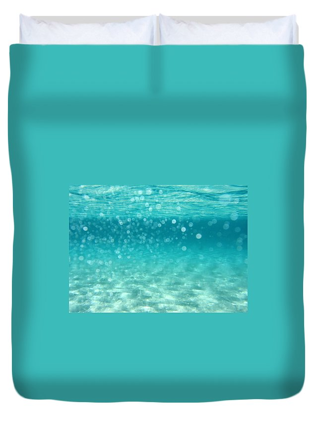 Air Duvet Cover featuring the photograph Ocean by Stelios Kleanthous