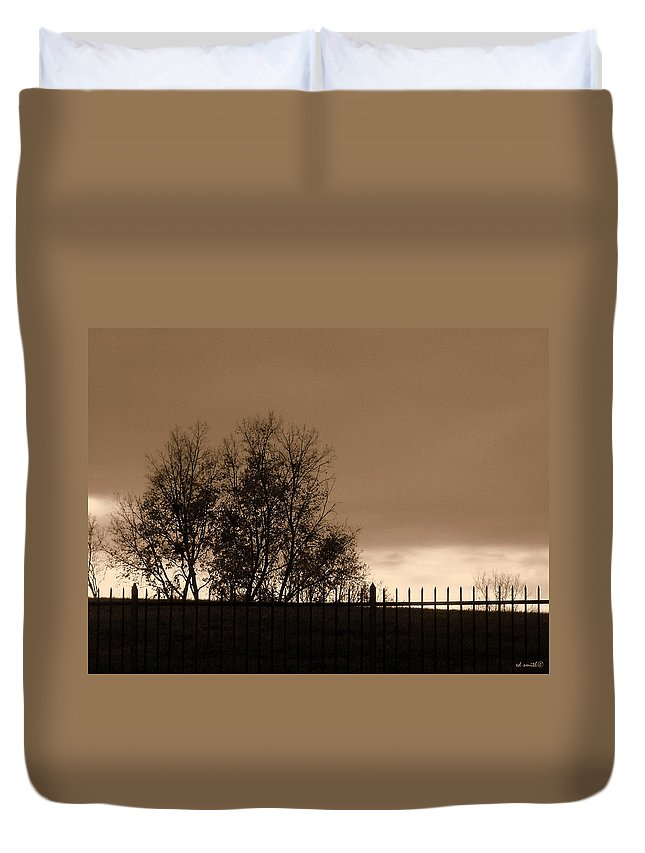 Out Of Reach Duvet Cover featuring the photograph Out Of Reach by Ed Smith