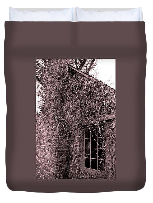 Usa Duvet Cover featuring the photograph Over Grown by LeeAnn McLaneGoetz McLaneGoetzStudioLLCcom